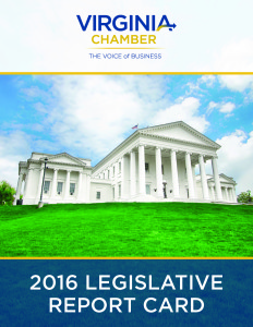 2016 Virginia Chamber of Commerce Legislative Report Card_Page_01