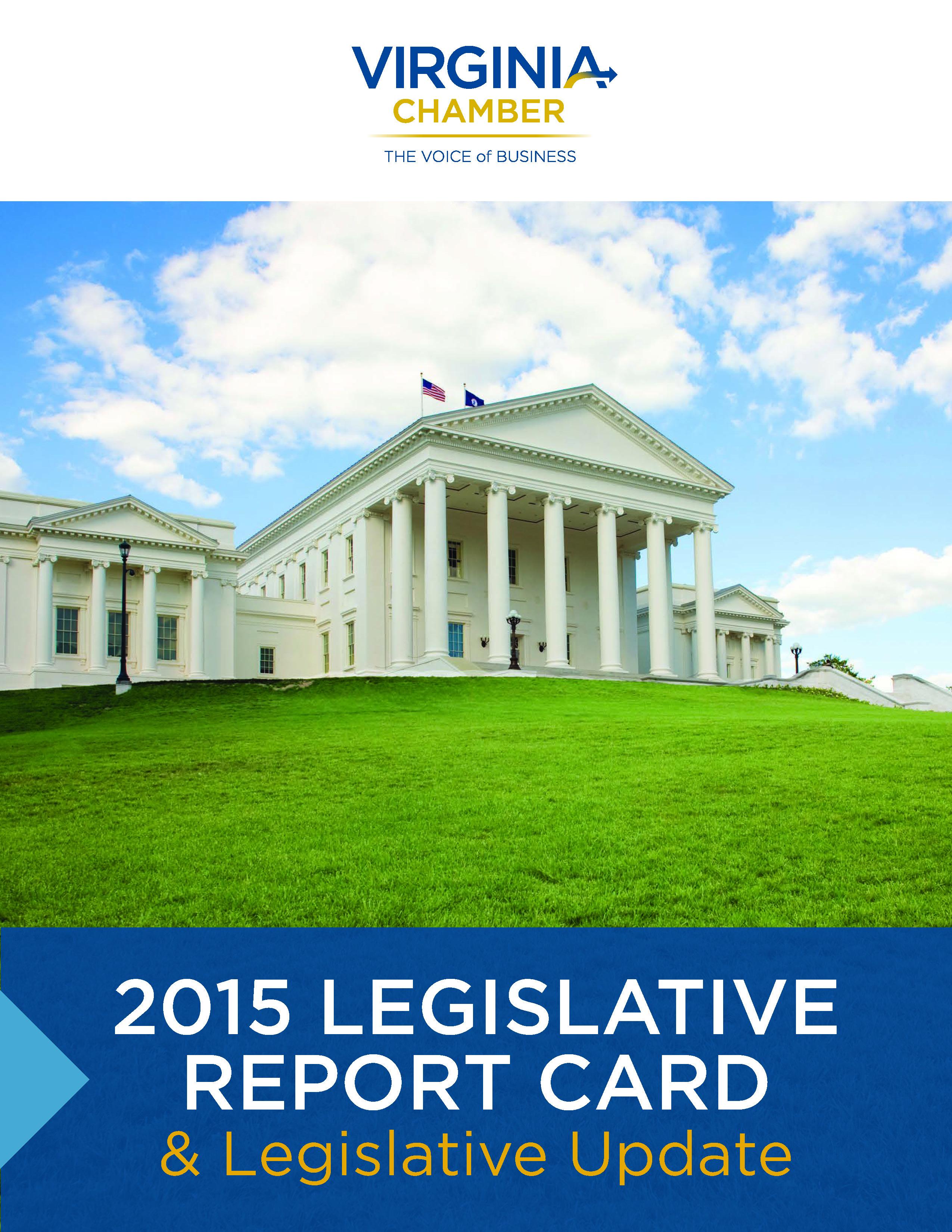 2015 Legislative Report Card