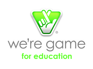 We're Game For Education-vert