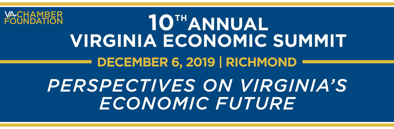 NoVA Chamber's 10th Annual Virginia Economic Summit (NOVA) @ Greater Richmond Convention Center