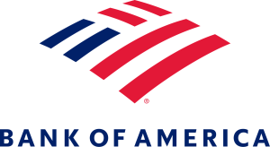 bank of america Logo Color Stacked